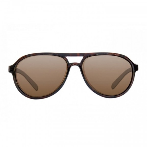 Korda Sunglasses Aviator Tortoise Frame Brown