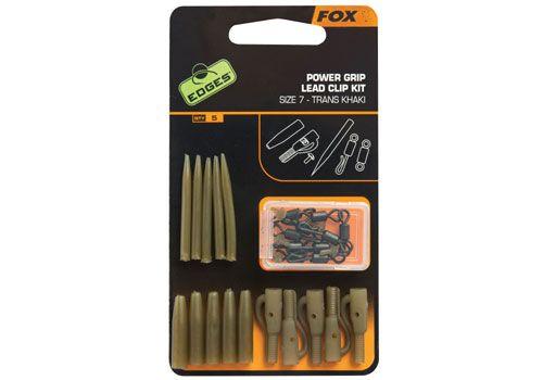 Fox Edges Surefit Lead Clip Kit x 5 pc
