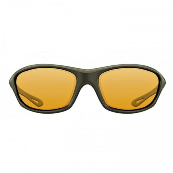 Korda Sunglasses Wraps Gloss Olive Yellow