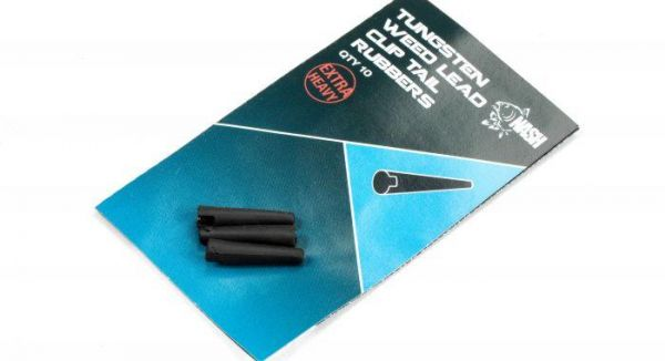 Nash Tungsten Weed Lead Clip Tail Rubber NEW