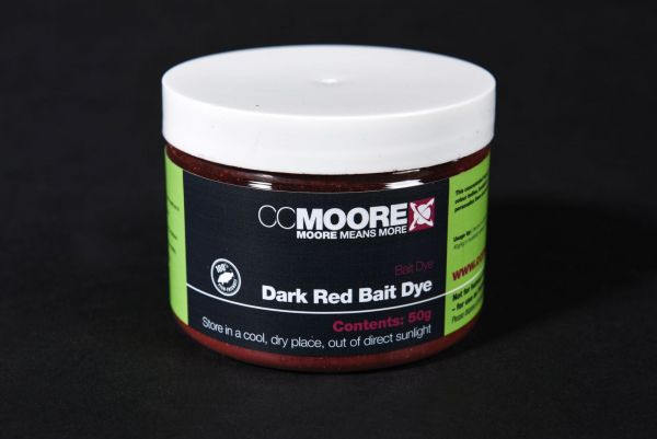 CCMoore Fluoro Red Bait Dye 50g