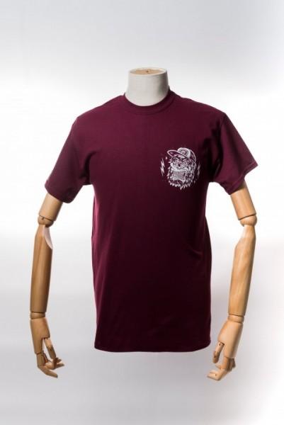 Monkey Climber APE Shirt Burgundy