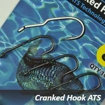Carp´R´Us Cranked Hook - ATS