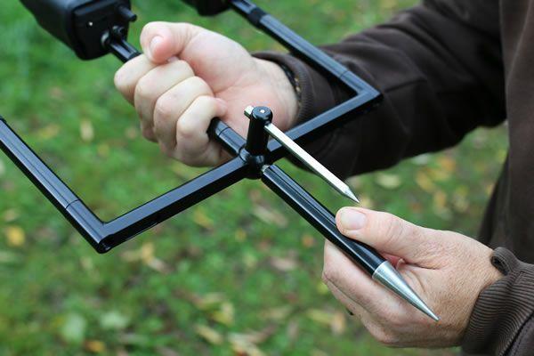 Korda Singlez Spike Ball Stabiliser - Aluminium - Black
