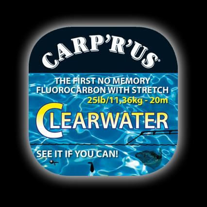Carp´R´Us Clearwater Fluorocarbon 20m