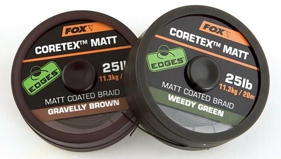 Fox Edge Cortex Matt Coated Braid 20m