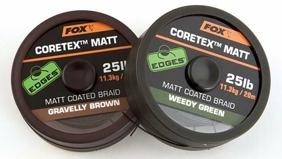 Fox Edge Cortex Matt Coated Braid 20m