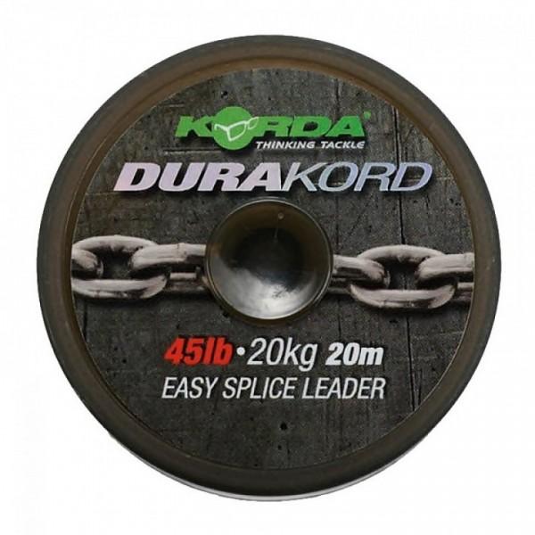Korda Dura-Kord Dyneema Spliceable Leader 45lb 20m