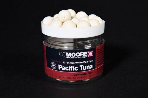 CCMoore Pacific Tuna White Pop Ups 13-14mm