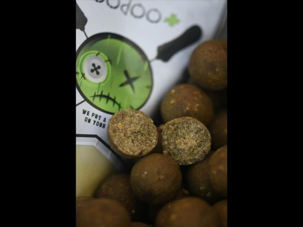 Dreambaits VooDoo + Green Wafters 15+20 mm Mix
