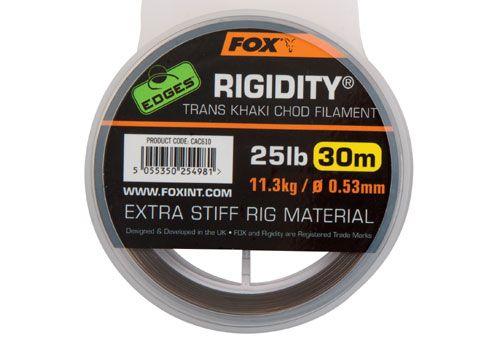 Fox Edges Rigidity Chod Filamen