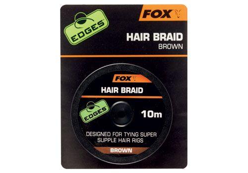 Fox Edges Hair Braid x 10m brown