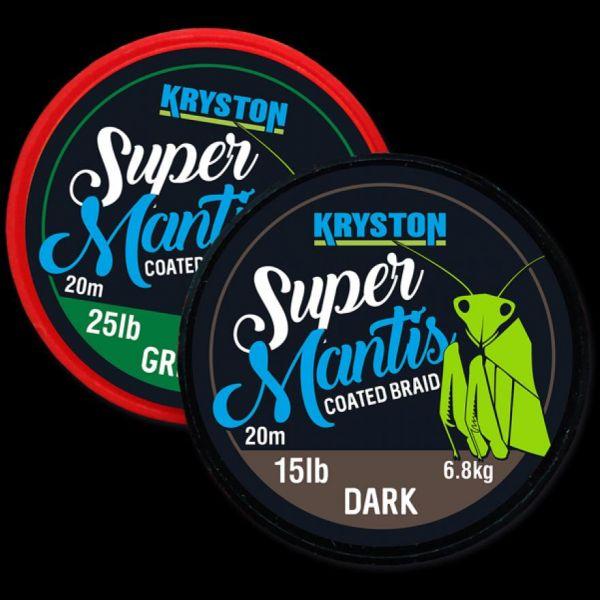 Kryston 20m Super Mantis Coated Braid
