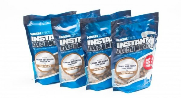 Nash Instant Action Boilies 2,5kg **BUY 2 GET 1 FREE**