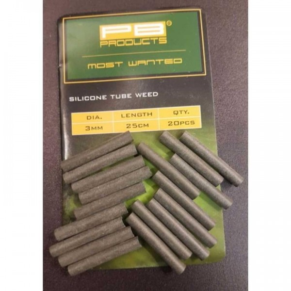 PB Products Silicone Tube 3mm 2,5cm 20Stk Weed