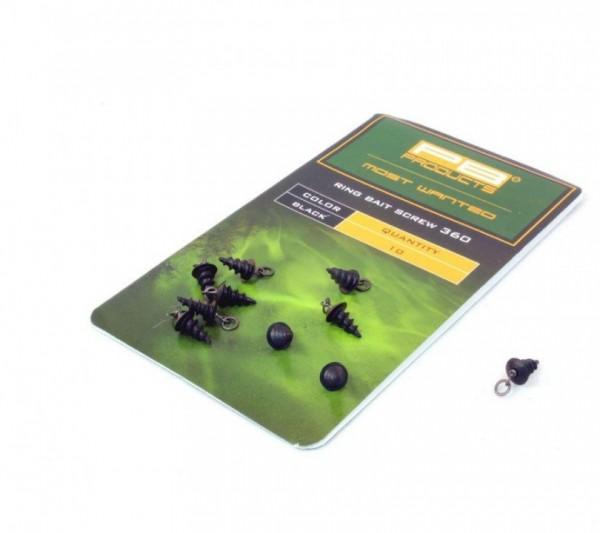 PB Products Ring Swivel Bait Spike 360 5Stk