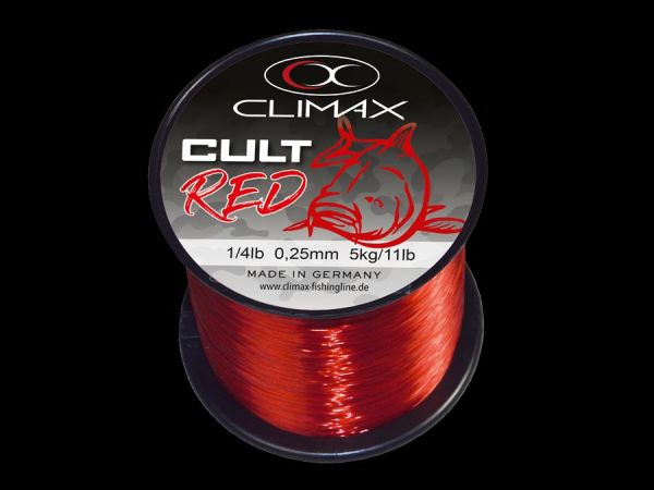 Climax Cult Carp Line red