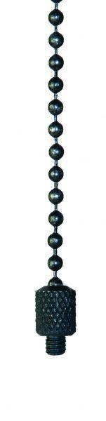 Cygnet Clinga Black & Silver Ball Chains - All Lengths