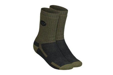 Korda Kore Merino Wolle Socken Black/Green