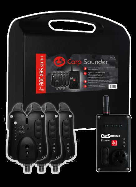 CarpSounder ROC XRS ACC Funkset 3+1
