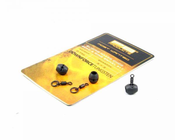 PB Products DT Naked Chod Bead 0,75g und Ring Swivel Grösse 11 3 Stk