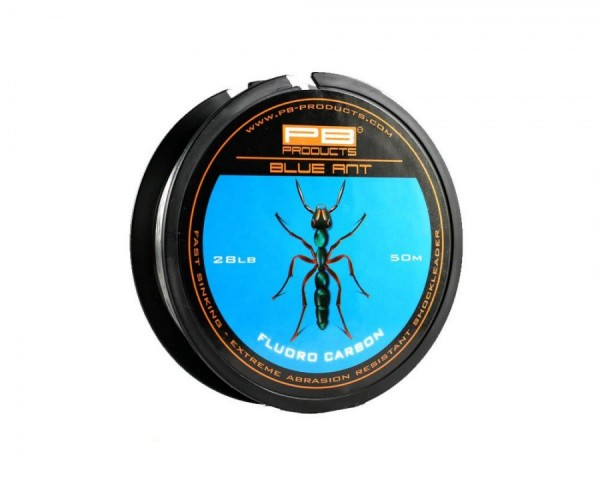 PB Products Blue Ant Fluoro Carbon 28lb 50m