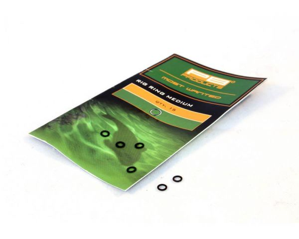 PB Products Rig Rings 3,7mm Medium 15 Stk