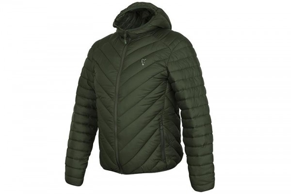 Fox Collection Quilted Jacket Green/Silver
