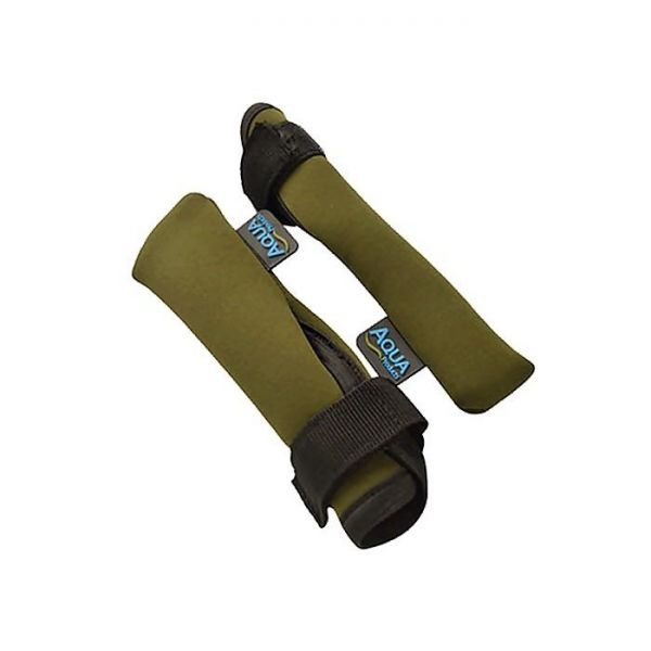Aqua Neoprene Tip and Butt Protectors - Pair