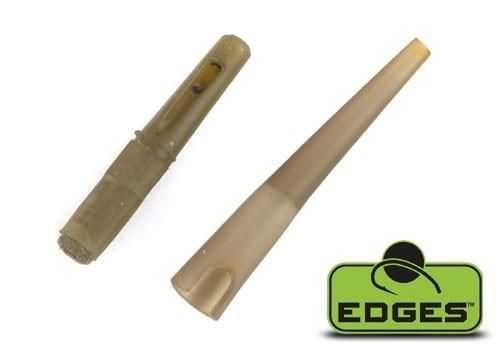 Fox Edges Drop-off Inline Lead Kit x 5 inserts - tail rubbers