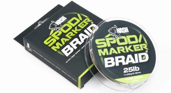 Nash Spod and Marker Braid Lo-Viz Green