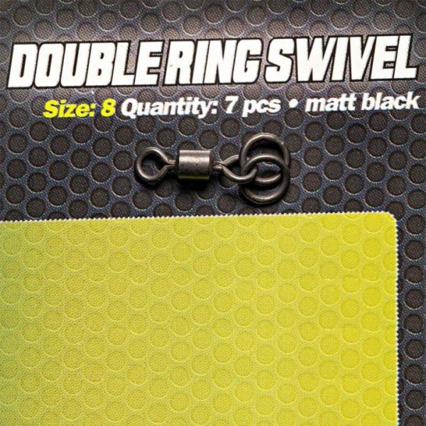 Carpleads Double Ring Swivel Size 8