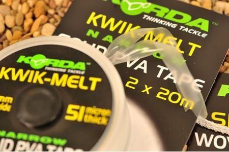 Korda Kwik-Melt 10mm PVA Tape 20m Dispenser