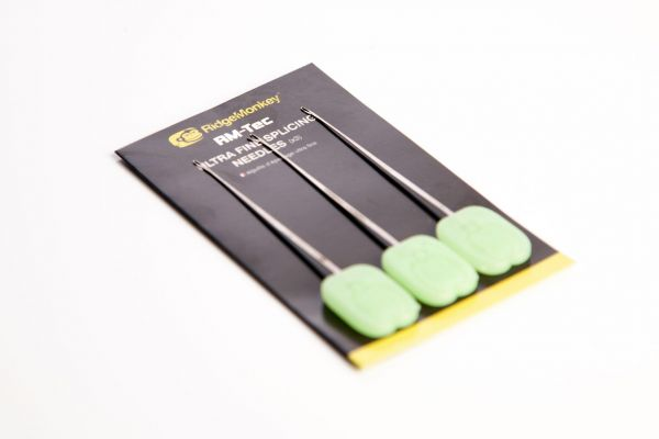 Ridge Monkey Ultra Fine Splicing Needles x3