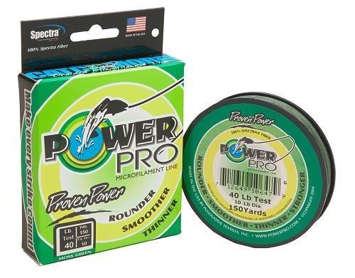 Shimano PowerPro 275m Moos Green