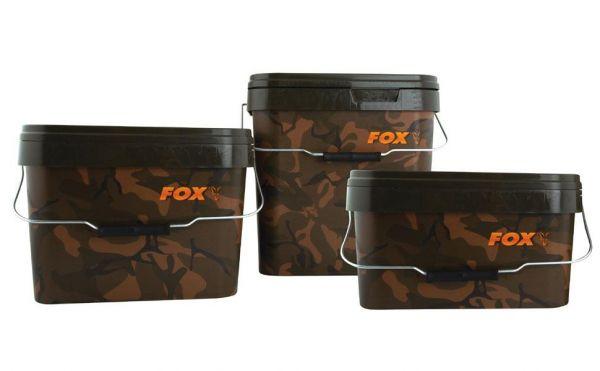 Fox Camo Square Bucket 17L