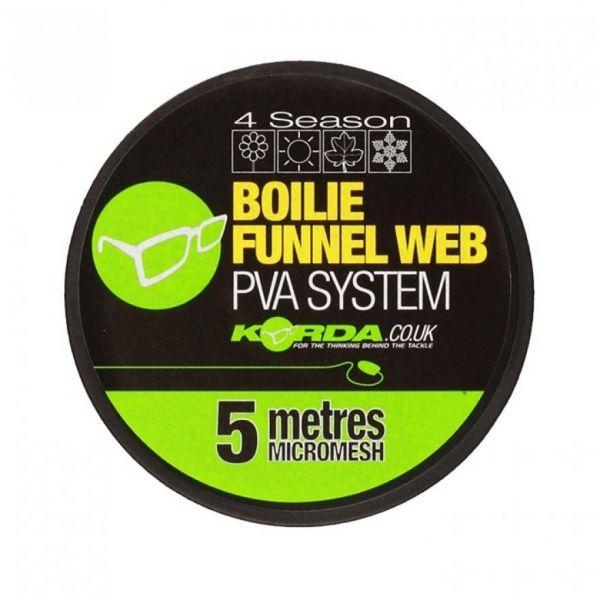 Korda Boilie Funnel Web MICROMESH 5M Refill