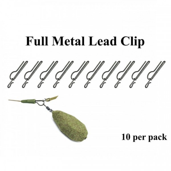 Poseidon Full Metal Lead Clip