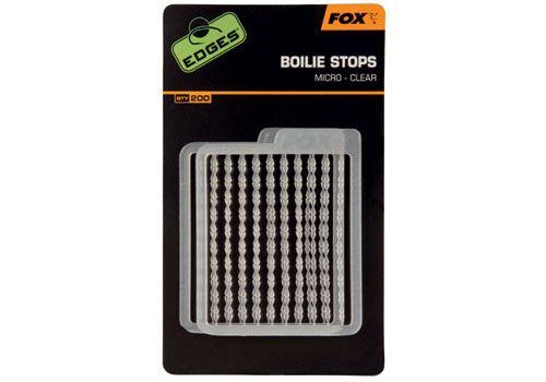 Fox Edges Boilie Stops Standard Clear
