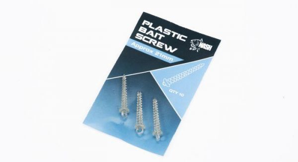 Nash Plastic Bait Screw 21mm NEW