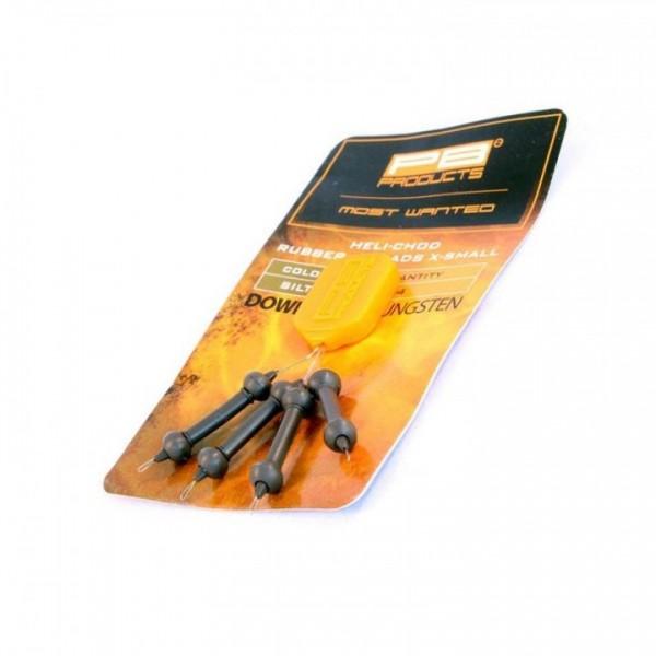 PB Products Heli-Chod X-small Rubber und Beads 3 Stk