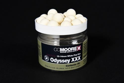 CCMoore Odyssey XXX White Pop Ups 13-14mm