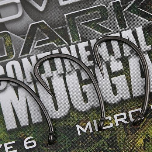 GARDNER COVERT DARK CONTINENTAL-MUGGA HOOKS BARBED