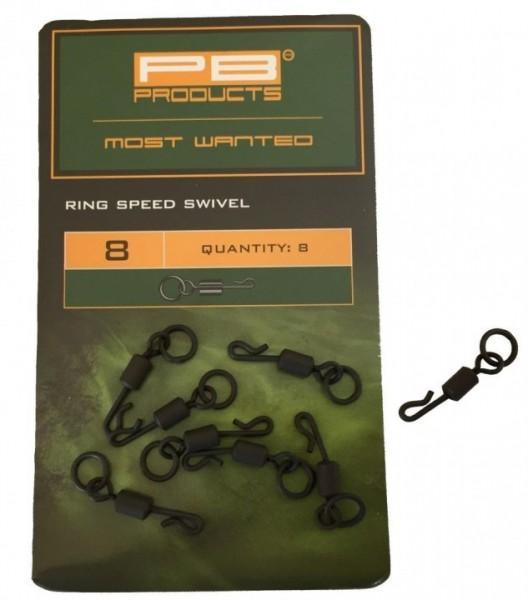 PB Products Ring Speed Swivel 8 8 Stk