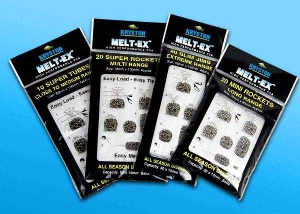 Kryston Meltex Rocket Tubes (PACK OF 10) Clear