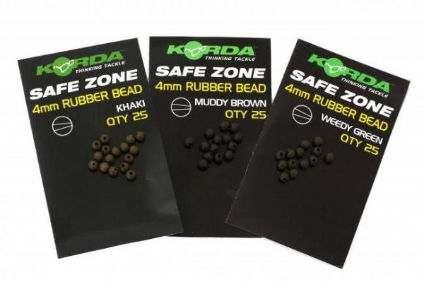 Korda 4mm Rubber Bead - 25 Stk