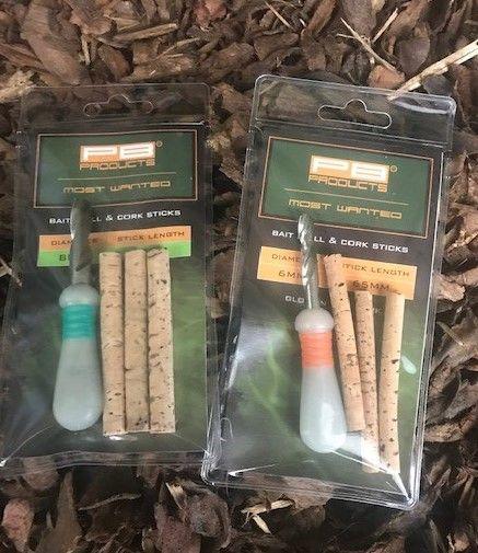 PB Products Bait Drill Cork Sticks 3 Stk
