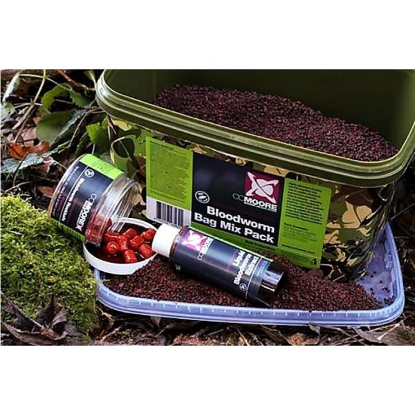 CCMoore Bloodworm Bag Mix Pack Bucket
