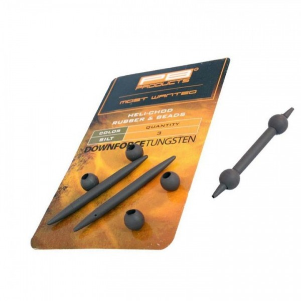 PB Products DT Heli-Chod Rubber und Beads 3 Stk