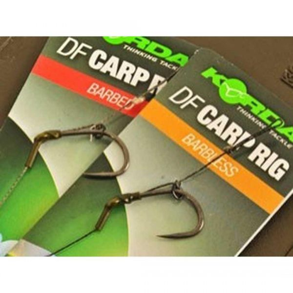 Korda N-Trap DF Rig Barbless 30lb N-Trap Wide Gape X 6